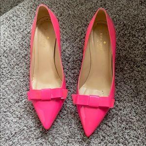 Kate spade pink heels
